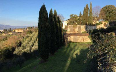 Toscanassa Arno-joen vastarannalla