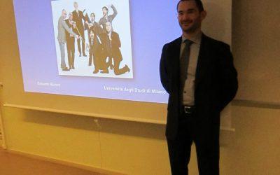 L'italiano sul palcoscenico – in margine a due lezioni di Edoardo Buroni (Università degli Studi di Milano)