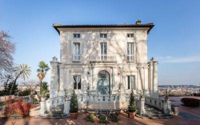 Nostalginen Villa Lante – kurssilaiset kesäretkellä vuonna 1964